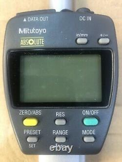 Mitutoyo 543-558-1 ID-F150HE Absolute Digital Indicator 0-2 Used Works