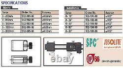 Mitutoyo 552-185-10 Digital ABS Carb Caliper Inter Jaws 0-2000mm Digimatic IP66