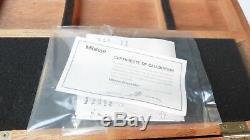 Mitutoyo 568-941 Borematic Digital Bore Gauge Micrometer Set Range. 275.5