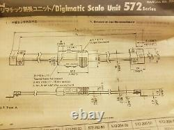 Mitutoyo 572 series 0-12/300mm Absolute Scale