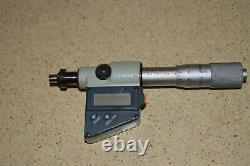 Mitutoyo 67452 Digital Micrometer Head-plain Spindle 0-25mm (d9)