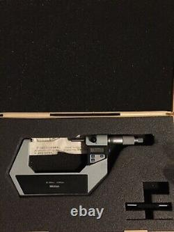 Mitutoyo 75-100mm Digital Micrometer 0.001mm Resolution 293-524 With Output