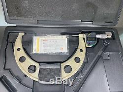 Mitutoyo 7-8 Digital Micrometer IP65 Coolant Proof, Carbide Faces 293-353 30