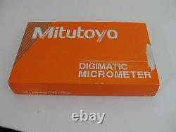 Mitutoyo ABSOLUTE Digimatic Micrometer #227-213 NEW