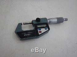 Mitutoyo Bügelmessschraube Digital 0 25 mm 0,001 Micrometerschraube MwSt P33