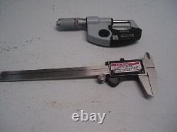 Mitutoyo CD-6 CSX, Absolute Digimatic, 0-6 Digital Caliper, micrometer 293-348