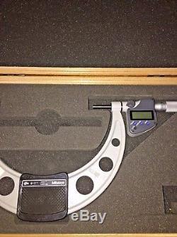 Mitutoyo Coolant Proof Micrometer 6-7. No. 293-352-10 Digital Micrometer