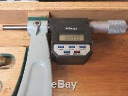 Mitutoyo Digimatic 340-714 18 24 External Outside Digital Micrometer In Box
