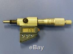 Mitutoyo Digimatic 350-714-30 Digital Micrometer Head with LCD Display, 25mm