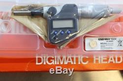 Mitutoyo Digimatic Digital Micrometer Head 0-1 / 0-25mm 0.00005 / 0.001 mm