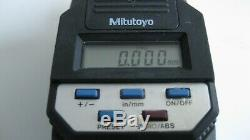 Mitutoyo Digimatic Head 164 Series 164-162 Micrometer 0-2 Inches