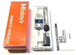 Mitutoyo Digimatic Indicator 0.001mm-10mm. 0001-4 Made In Japan 543-421A