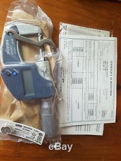 Mitutoyo Digimatic Micrometer 0-1, 0-20mm. 293-832-30! Made In Japan