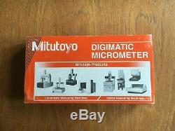 Mitutoyo Digimatic Micrometer 0-1, 0-25mm. 293-832 Made In Japan NEW