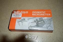 Mitutoyo Digimatic Micrometer Ip65 0-1 New In Box (bd1)