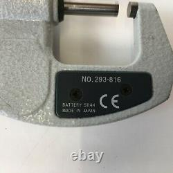 Mitutoyo Digimatic Outside Micrometer 293-816 With Case 0-25mm 0-1 inch
