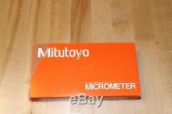 Mitutoyo Digit Counter Point Outside Micrometer 0-21 range / 0.001 resolution