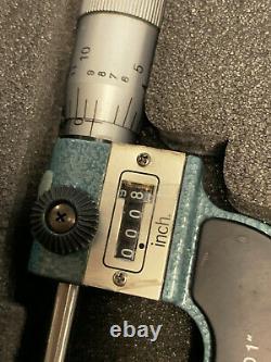 Mitutoyo Digit Matic Micrometer 1-3.0001 3pc Set 193-211 Machinist Tool