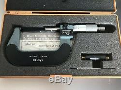 Mitutoyo Digit Outside Micrometer 50-75mm 193-113 Made In Japan