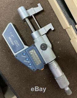 Mitutoyo Digital 1-2 Inside Micrometer 345-712-30 Digimatic Machinist Inspection