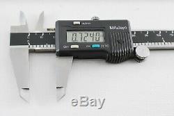 Mitutoyo Digital Caliper 500-136, Micrometer 293-765-30 in wood case A945