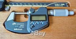 Mitutoyo Digital Caliper & Micrometer Set