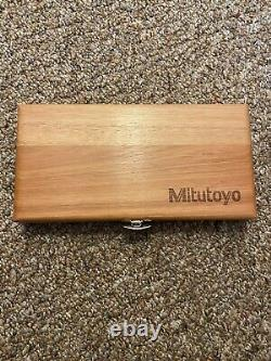 Mitutoyo Digital Caliper and Micrometer set with case (USED ONCE)