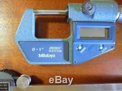 Mitutoyo Digital Caliper/micrometer Precision Tool Set