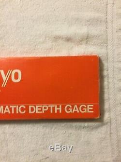 Mitutoyo Digital Depth Gage 0-8 Guage Micrometer Machinist