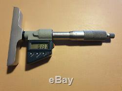 Mitutoyo Digital Depth Micrometer 329-711-30