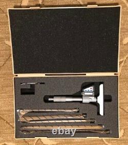 Mitutoyo Digital Depth Micrometer 329-711-30 (329-350-10)