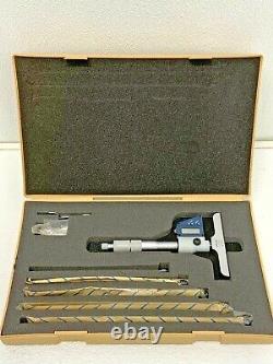 Mitutoyo Digital Depth Micrometer Set 329-511-30 withRods 21D