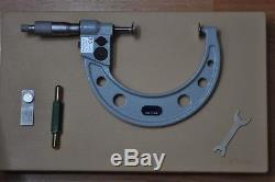 Mitutoyo Digital Disc Micrometer 3-4 Inch, Model 323-714-30