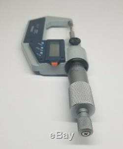 Mitutoyo Digital/Electric Spline Micrometer with SPC Output 0-1, 331-711-30