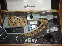 Mitutoyo Digital Flange Micrometer NEW