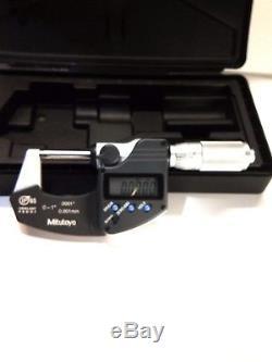 Mitutoyo Digital Micrometer 0 -1