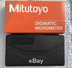 Mitutoyo Digital Micrometer 0-1 Ip65 Quantumike