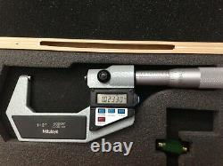 Mitutoyo Digital Micrometer 1-2293-722-10 excellent condition