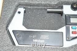 Mitutoyo Digital Micrometer 1-2'' 293-726-10 0.001mm. 00005'