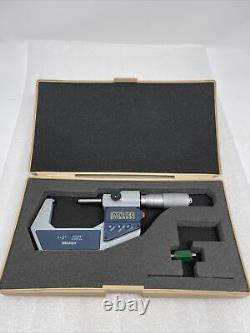 Mitutoyo Digital Micrometer 1-2'', 293-726-30 0.001mm. 00005'', Excellent