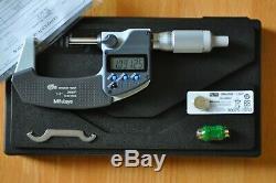Mitutoyo Digital Micrometer 1-2 Inch, Model 293-345-30, Ip65 Coolant Proof