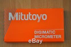 Mitutoyo Digital Micrometer 1-2 Inch, Quantumike, Model 293-186-30, Ip65