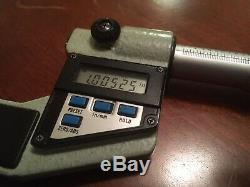 Mitutoyo Digital Micrometer 1-2 Inch / mm 293-706 0.00005 Res. FREE SHIPPING