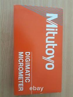 Mitutoyo Digital Micrometer 293-331-30 1-2 25-50 mm IP65 New