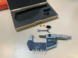 Mitutoyo Digital Micrometer 293-522-30, 25-50 mm 0.001mm, incl. 167-101 25mm std