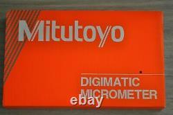 Mitutoyo Digital Micrometer 3-4 Inch, Model 293-333-30, Spc Output, Ip65