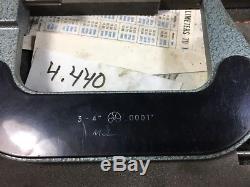 Mitutoyo Digital Micrometer, 3- 7 set. 0001 Graduation