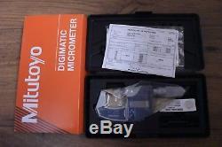 Mitutoyo Digital Micrometer IP65 0-25mm 293-832 Brand New