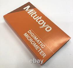 Mitutoyo Digital Micrometer, MDC-2 MX, 293-331-30, New