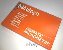 Mitutoyo Digital Micrometer, MDC-3 MX, 293-332-30, New